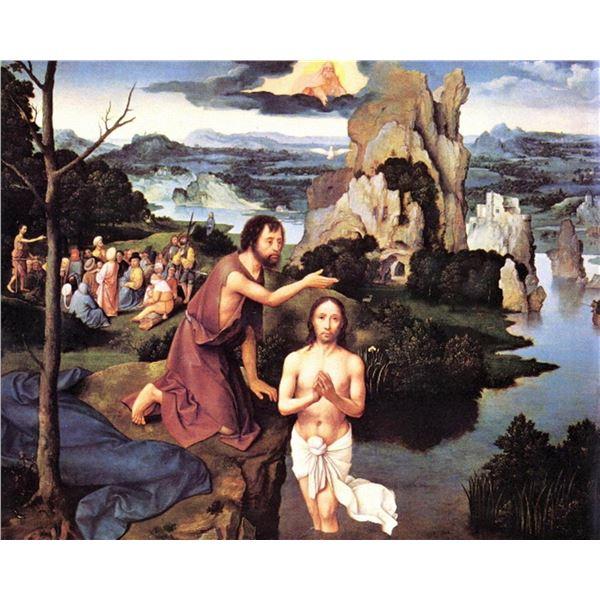 Joachim Patinir(Patinir) - Baptism of Christ