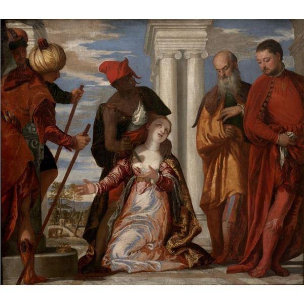 Paolo Veronese - Martyrdom of Saint Justina
