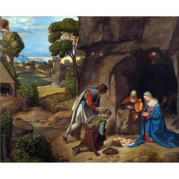 Giorgione - The Adoration of the Shepherds