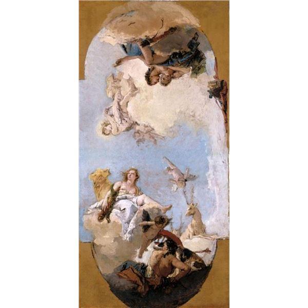 Tiepolo - Diana, Apollo and Nymphs