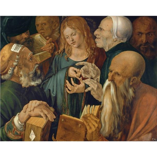Durer - Young Jesus Among The Scribes