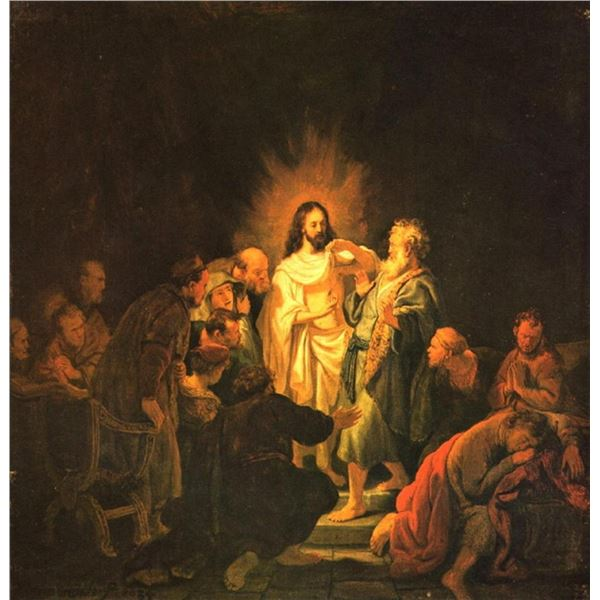 Rembrandt -Doubting Thomas