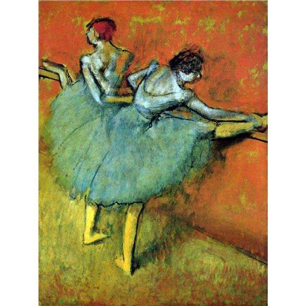 Edgar Degas - Dancers At The Bar #1