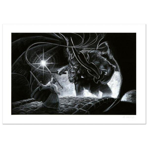 Mines Of Moria by Greg Hildebrandt