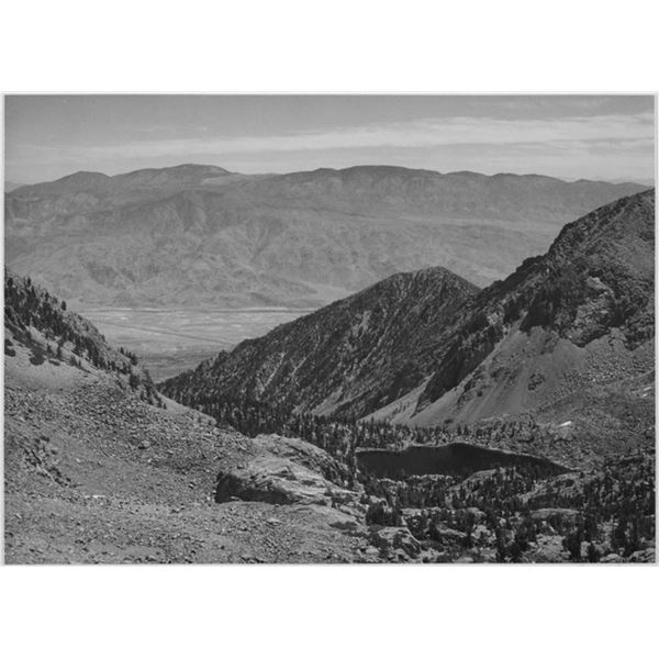 Adams - Owens Valley, Kings River Canyon