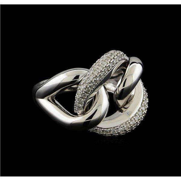 0.48 ctw Diamond Ring - 14KT White Gold