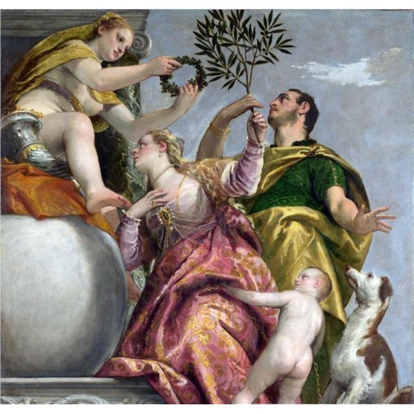Paolo Veronese - Allegory of Love