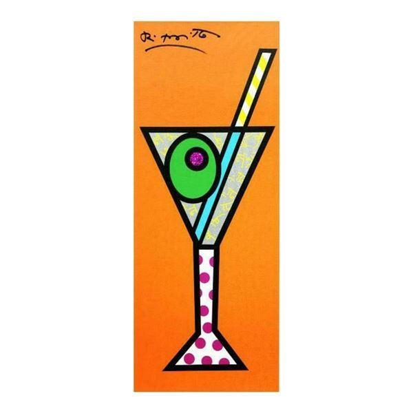 Tangerine Martini by Britto, Romero
