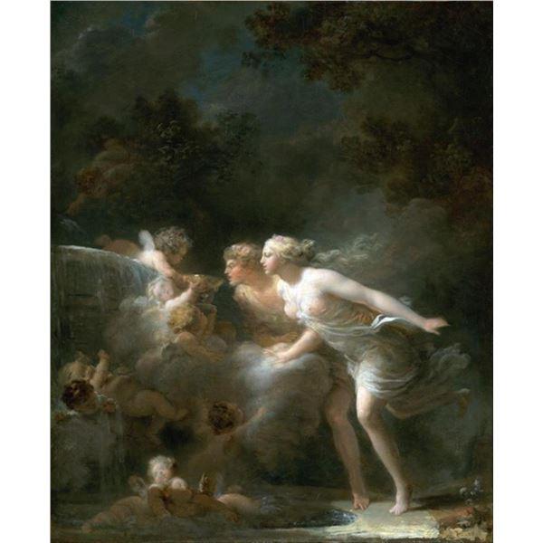 Jean-Honor� Fragonard - The Fountain of Love