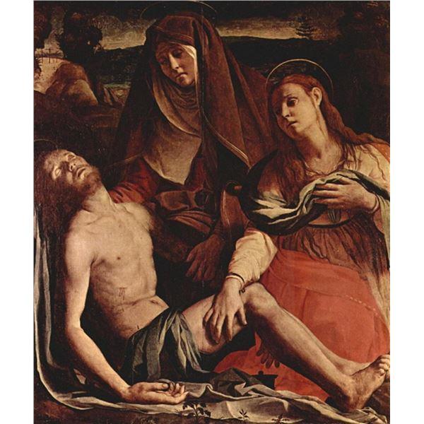 Bronzino - Christ and Maria Magdalena