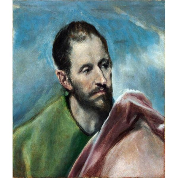 El Greco - Saint James the Younger