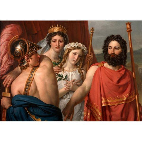 Jacques-Louis David - The Anger of Achilles