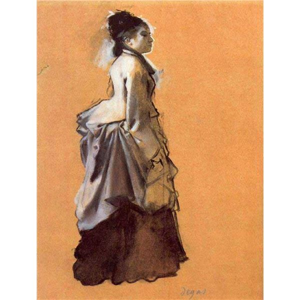 Edgar Degas - Young Lady In The Road Costume