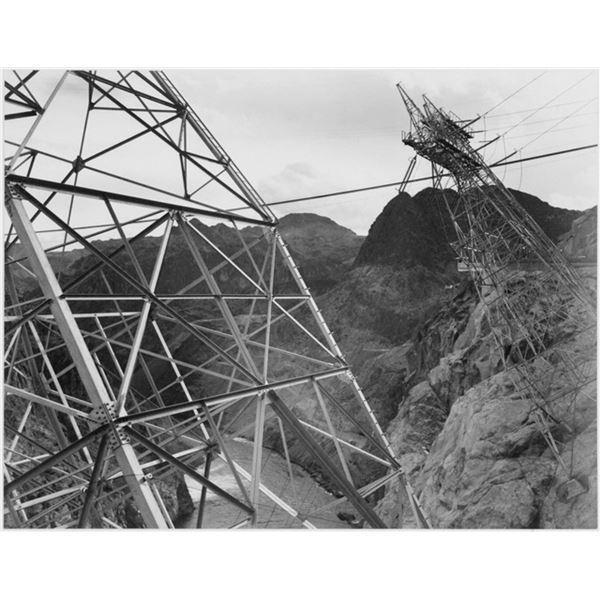 Adams - Boulder Dam Transmission Lines