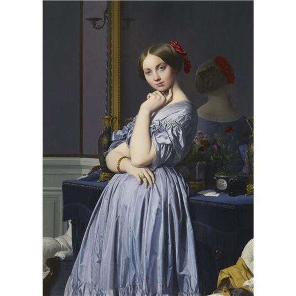 Jean Auguste Dominique Ingres - Comtesse de Haussonville