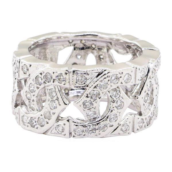 1.20 ctw Diamond Ring - 14KT White Gold