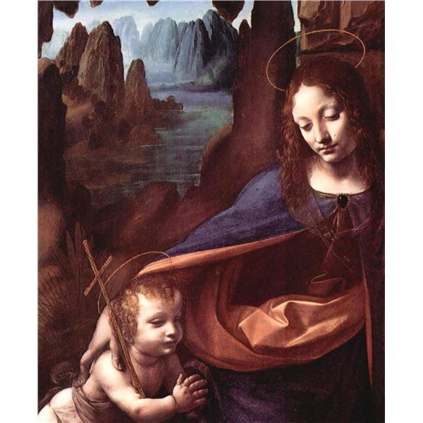 Leonardo da Vinci - Maria and Christ