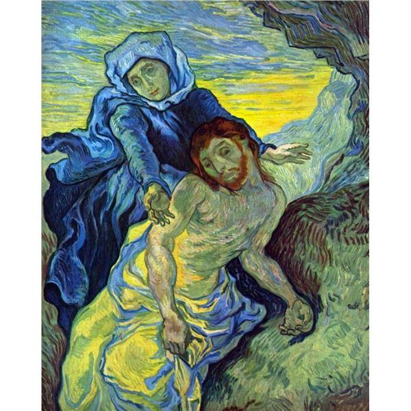Van Gogh - Pieta (By Eugene Delacroix) By  Van Gogh