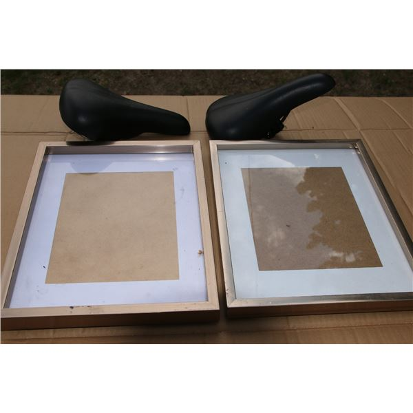 pic frames/ bike seats