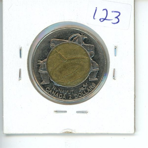 1999 Canadian Toonie $2 Coin