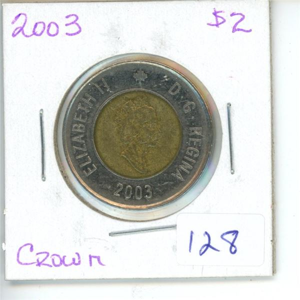 2003 Canadian Toonie $2 Coin