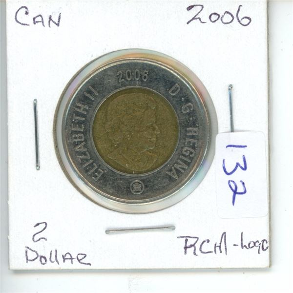 2006 Canadian Toonie $2 Coin