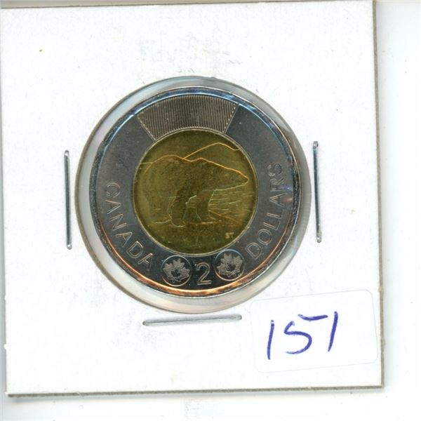 2015 Canadian Toonie $2 Coin