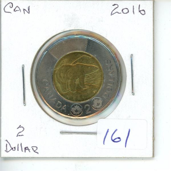 2016 Canadian Toonie $2 Coin