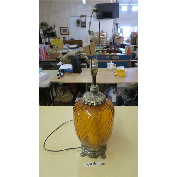 Glass Lamp (No Shade)