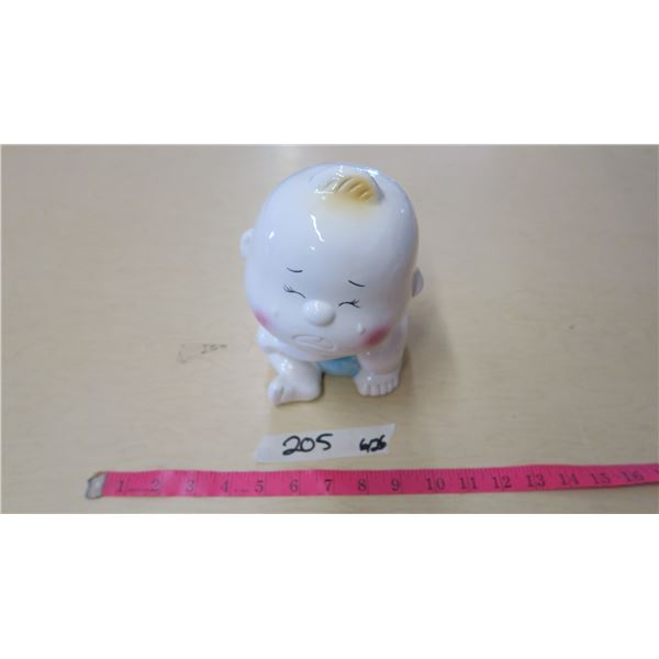Ceramic Baby Coin Bank