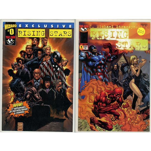 Rising Stars #1 and #0 - Comic