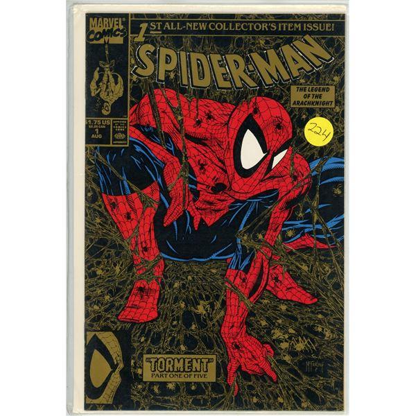 Spider-Man #1 90' - Comic - Gold Variant