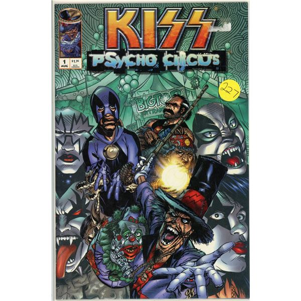 Kiss:Psycho Circus #1 - Comic