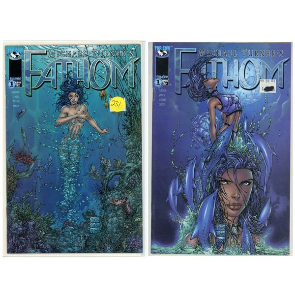 Fathom Issues #1b and 1c Variant Covers - Comics