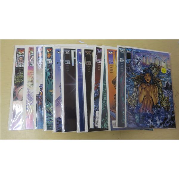 Fathom Issues #1-12 and 12b Variant - 13 Issues