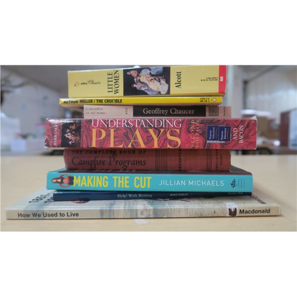Misc Books X8