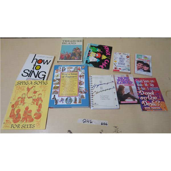 Schoolastic Books and Singing/Song Books