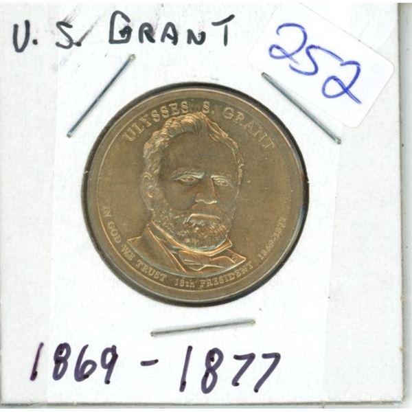 US Commemorative President's Dollar Coin - Grant