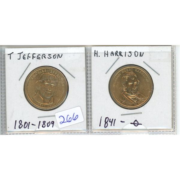 2009P and 2001D US Dollar Coins - Sacagawea X2