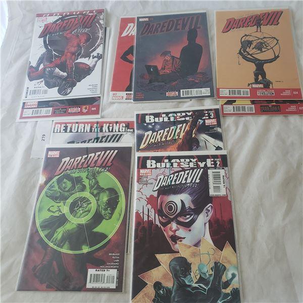 10 Comics Marvel Daredevil Lady Bullseye