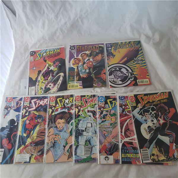 10 Comics Marvel D.C. Starman