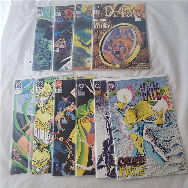 10 Comics D.C. Dr. Fate