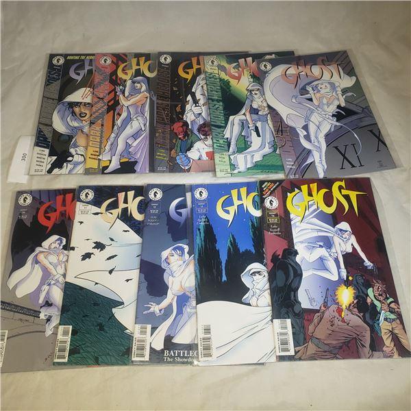 10 Comics DARKHORSE Ghost