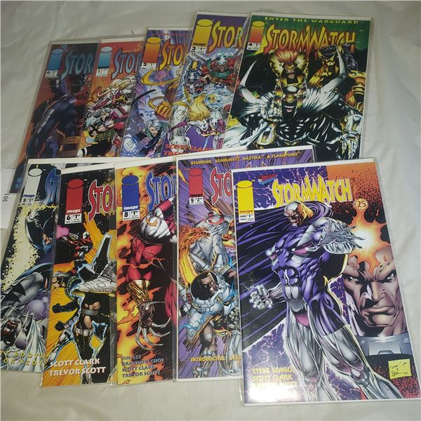 10 Comics IMAGE Stormwatch