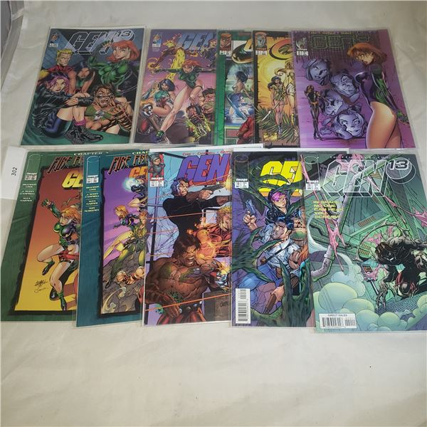 10 Comics IMAGE Gen 13 Gen13 Including #1 with variant covers