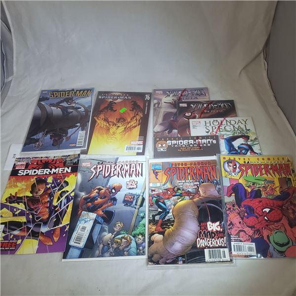 10 Comics MARVEL Spiderman