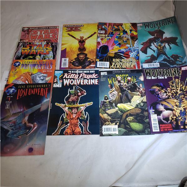 10 Comics DEFIANT / IMAGE / DARKHORSE War Dancer, Silke, New Men