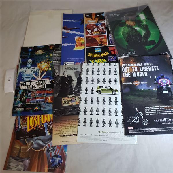 10 Comics MARVELStar Wars, Wolverine, X-Men, Gene Rodenberry Leonard Nemoy Primortals
