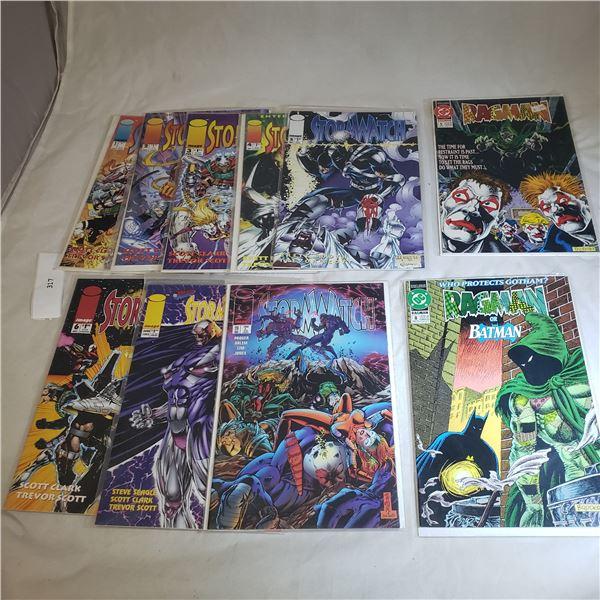 10 Comics D.C. / IMAGE Ragman, Stormwatch
