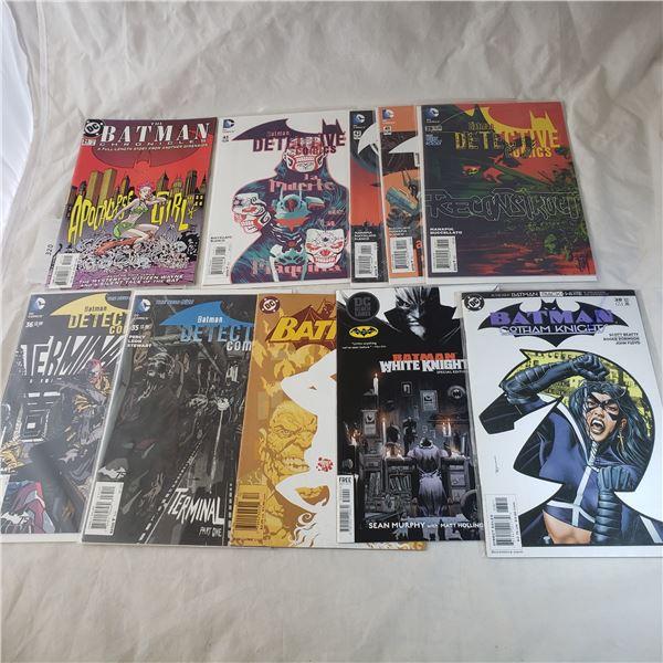 10 Comics D.C. Batman